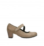 wolky escarpins 03754 conga 80150 cuir taupe