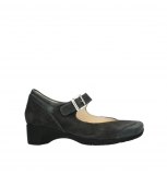 wolky court shoes 07808 opal 90000 black leather