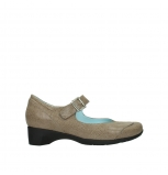 wolky court shoes 07808 opal 90150 taupe leather