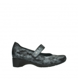wolky court shoes 07813 ruby 10000 black anthracite nubuck