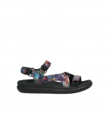 wolky sandalen 00710 energy lady 40970 multi black leather