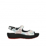 wolky sandalen 03325 rio 70980 white multi color canal leather