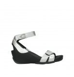wolky sandalen 03776 era 89133 silver grey leather