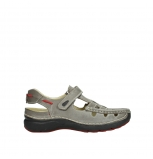 wolky sandalen 07201 rolling summer 30200 grey leather