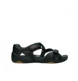 wolky sandalen 1100 cleopatra 300 zwart leer