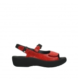 wolky sandalen 3204 jewel 750 red canals