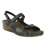 wolky sandals u 00401 tsunami 60000 black leather