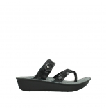 wolky slippers 00877 martinique 12000 black nubuck