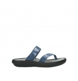 wolky slippers 00880 tahiti 70800 blue leather