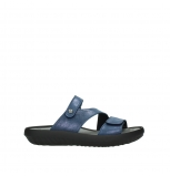 wolky slippers 00885 sense 70800 blue leather