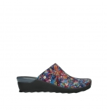 wolky slippers 02575 go 40970 multi black mtallic leather