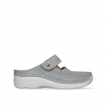 wolky slippers 06227 roll slipper 15206 light grey nubuck