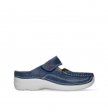 wolky mules 06227 roll slipper 15820 nubuck bleu denim
