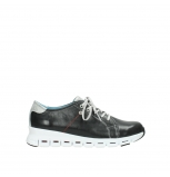 wolky trainers 02051 mega 30070 black summer leather