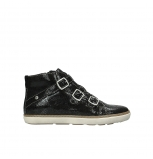 wolky sneakers 09455 vancouver 90000 black craquele leather