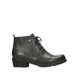 wolky lace up boots 00534 indus 30203 lead graca leather