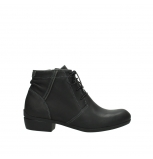 wolky lace up boots 00951 el dorado 50002 black leather