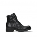 wolky lace up boots 02628 center wp 20000 black leather