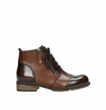 wolky bottines a lacets 04440 millstream 39430 cuir cognac