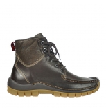 wolky bottines a lacets 04727 dive winter 20300 cuir marron