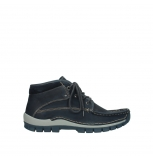 wolky bottines a lacets 04751 cross men 11802 nubuck bleu