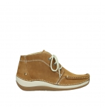 wolky lace up boots 04803 olympia 10410 tobacco nubuck