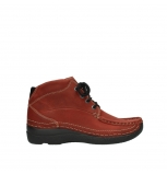 wolky bottines a lacets 06242 roll shoot 11542 nubuck rouge hiver