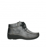 wolky lace up boots 06253 seamy moc 30210 anthracite leather
