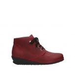 wolky bottines a lacets 07251 sacramento 11530 nubuck bordeaux