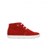 wolky bottines a lacets 09460 columbia 40500 suede rouge