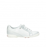 wolky lace up shoes 02025 calama 30130 silver leather