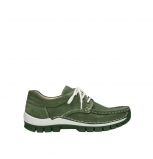 wolky lace up shoes 04701 fly 11720 moss green nubuck