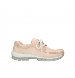 wolky lace up shoes 04705 kick summer 10620 salmon pink nubuck