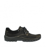 wolky lace up shoes 04750 fly men 50000 black leather