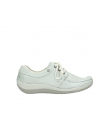 wolky lace up shoes 04800 coral 80120 offwhite leather