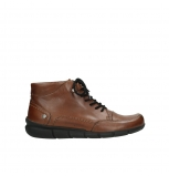 wolky lace up shoes 05311 positano 20430 cognac leather
