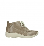 wolky chaussures a lacets 06200 roll moc 90150 nubuck taupe