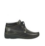 wolky lace up shoes 06287 seamy range 30000 black leather