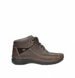 wolky lace up shoes 07229 rolling pure cw 50300 brown leather cold winter warm lining