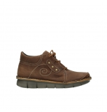 wolky lace up shoes 08384 gallo 10430 cognac nubuck