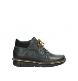 wolky lace up shoes 08384 gallo 50000 black oiled leather