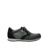 wolky lace up shoes 1483 ewood winter 202 black leather