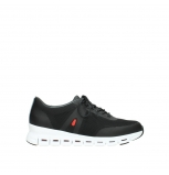 wolky lace up shoes 2050 nano 900 black mesh upper