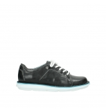 wolky lace up shoes 8475 coal 307 black summer leather