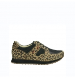 wolky chaussures de marche 05804 e walk 90000 leopardprint cuir limited edition