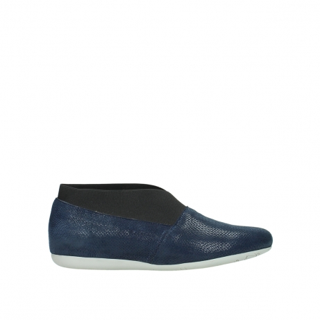 wolky slipons 00111 miami 20800 blue leather
