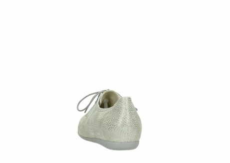 wolky lace up shoes 00112 stuart 20120 off white silver printed leather_6