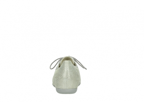 wolky lace up shoes 00112 stuart 20120 off white silver printed leather_7