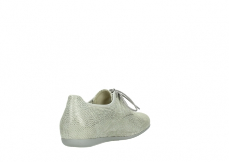 wolky lace up shoes 00112 stuart 20120 off white silver printed leather_9