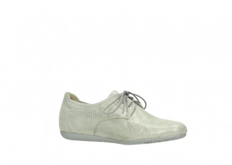 wolky lace up shoes 00112 stuart 20120 off white silver printed leather_15